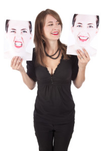 Woman Choosing Her Emotion