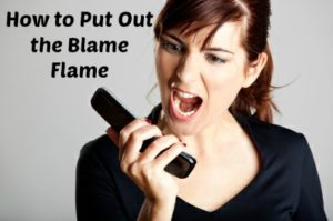 Put Out the Blame Flame